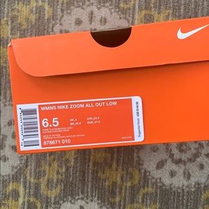 Nike Zoom All Out Low Big Kids Sneakers